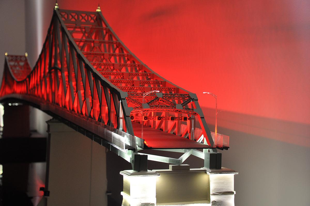 Maquette Pont